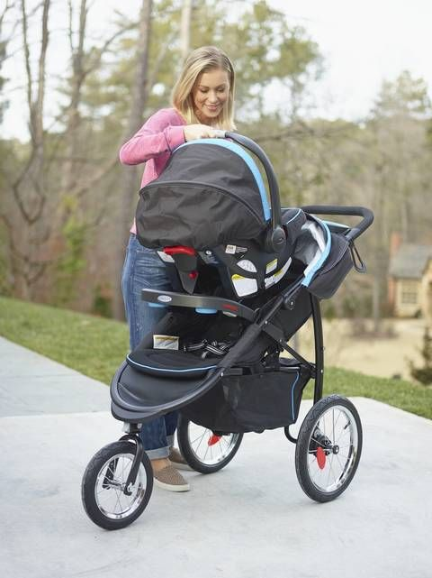 Graco Fast Action Jogger Xt Travel System