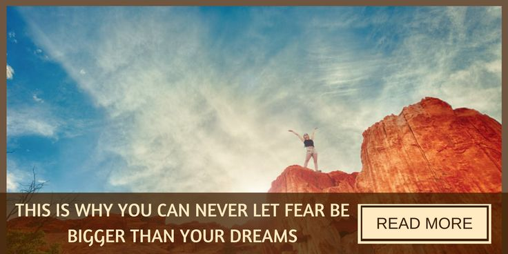 Fears can hold us back. But when we overcome them, we can reach our dreams.