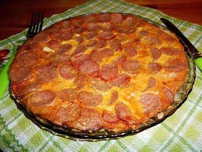 Karfiol alapú pizza