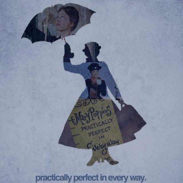 Mary Poppins...one of Roby's fave's