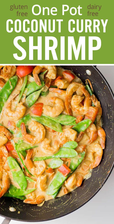 Coconut curry shrimp, Curry shrimp and Coconut curry on Pinterest