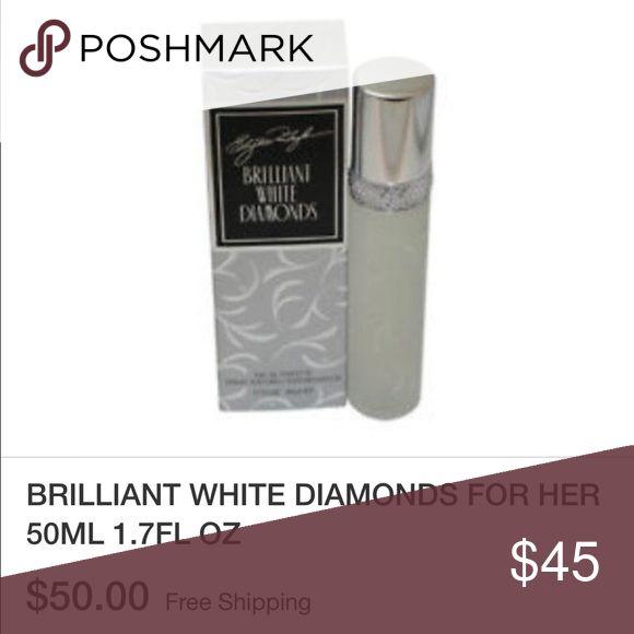 Brilliant White Diamonds Perfume Brand New Without Box Brilliant White Diamonds 💎 By Elizabeth Taylor 100% Authentic MRSP: $50 On eBay (photo above) Elizabeth Taylor Other