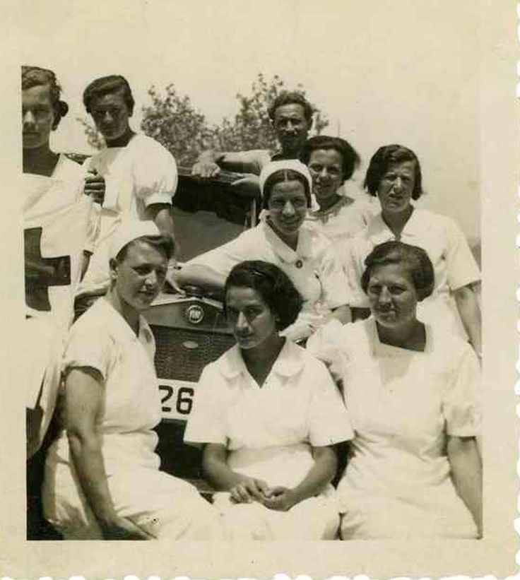 Spain - 1936-39. - GC - Holand nurses