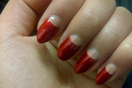 Historically, the Half Moon Manicure was often sported by femme fatales in the 1920s, 1930s and 1940s, with modern day women such as Dita Von Teese continuing the beautiful trend.   During times of war, it also conserved polish