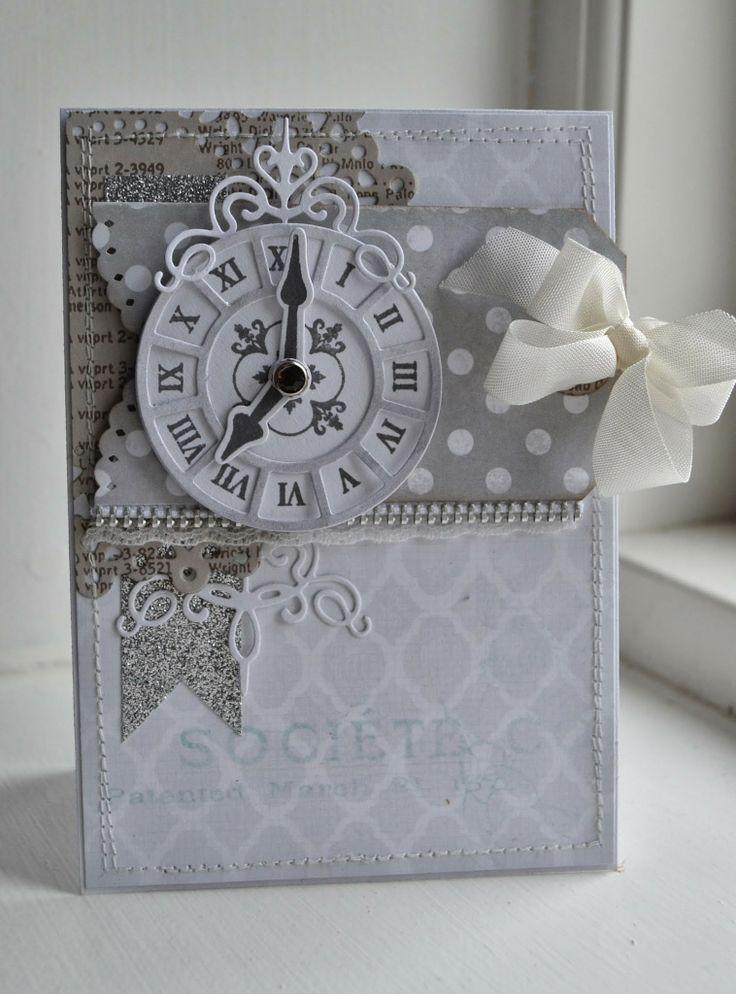 Clock card idea