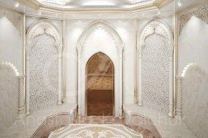 Дизайн общественных помещений, хаммам, турецкая баня/Дизайн интерьера хаммам (Турецкой бани)