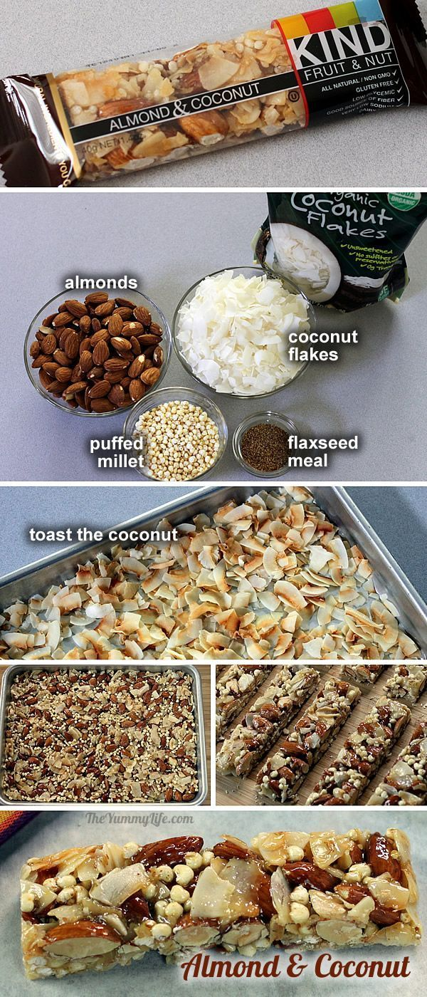 Almond Coconut KIND bar--copycat recipe