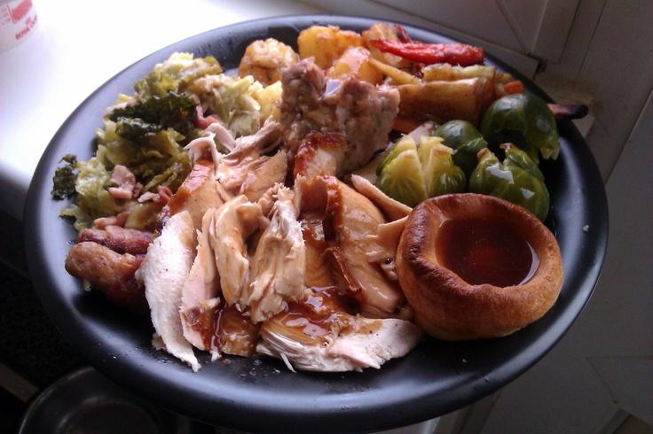 Roast dinner.