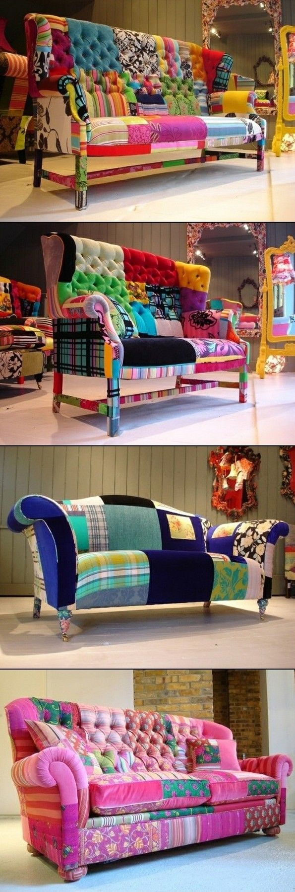 Vivir Ideas habitación con picos del sofá