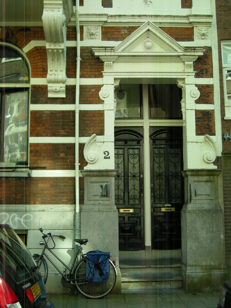 Beautiful Door From An Old House Amsterdam East Doors Pinterest