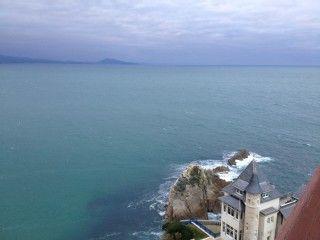 STUDIO plage côte des Basques VUE MER-MONTAGNE 2 pers . WIFILocation de vacances à partir de Biarritz @homeaway! #vacation #rental #travel #homeaway