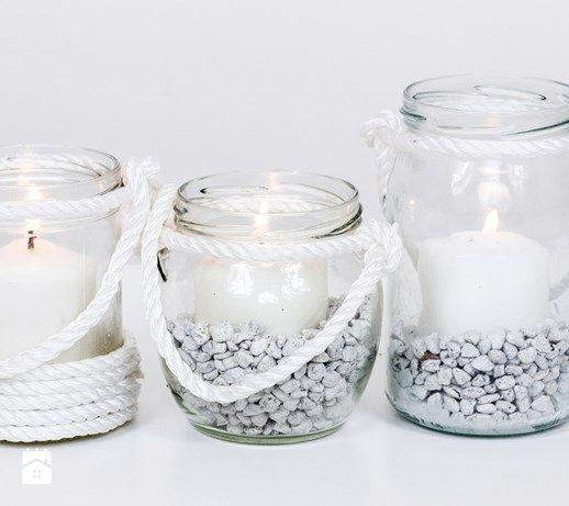 DIY: Lampiony ze słoików