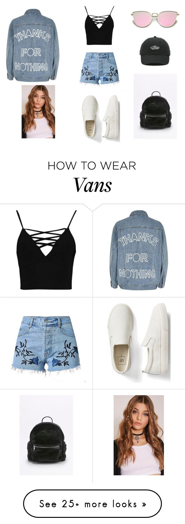 """winter got me like...."" by aylanyc23 on Polyvore featuring Boohoo, Gap, River Island and Vans"