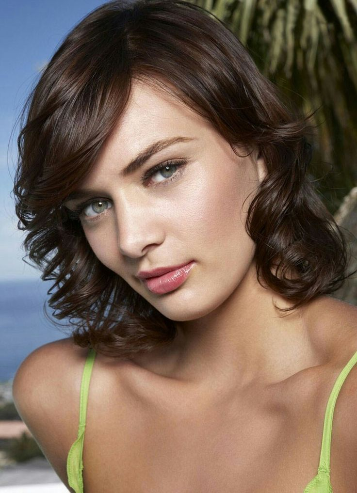 37 Best Beautiful Short Haircuts With Bangs Images On