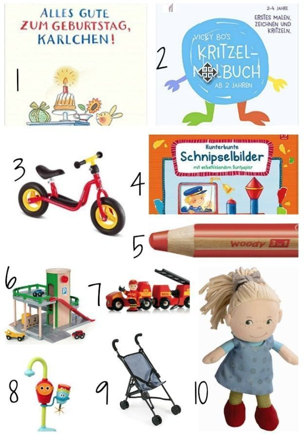 Second Birthday Gifts for Girls & Guys # Autound Girl Gifts   – Auto und Mädche…