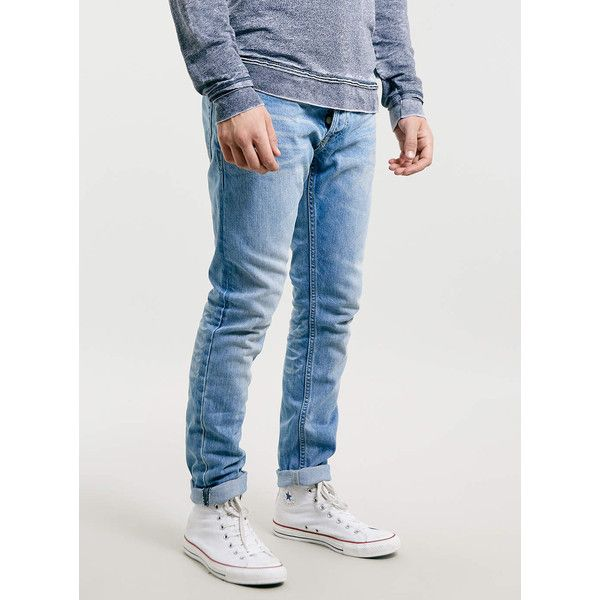How to style light wash skinny jeans mens
