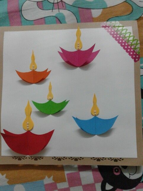 25 best ideas about diwali cards on pinterest diwali for Art and craft for diwali decoration