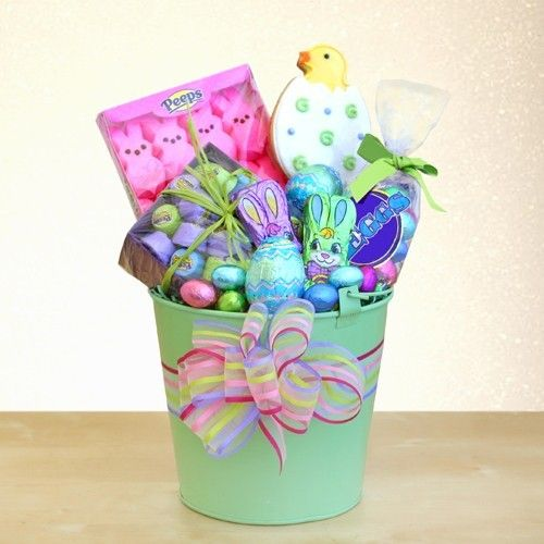 28 best easter gift baskets images on pinterest easter gift easter holiday gift pail by the gift basket pros and more gifts at discounted prices negle Gallery