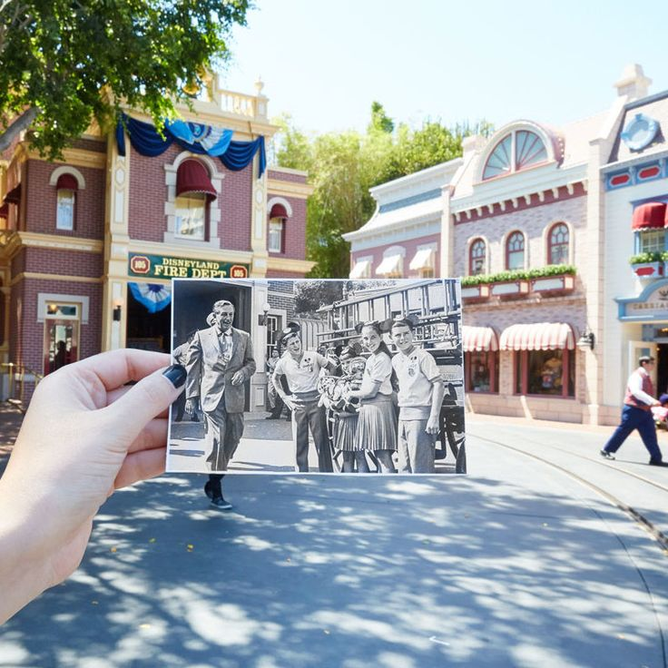 Celebrate Disneyland's Anniversary With These Amazing Then And Now Photos