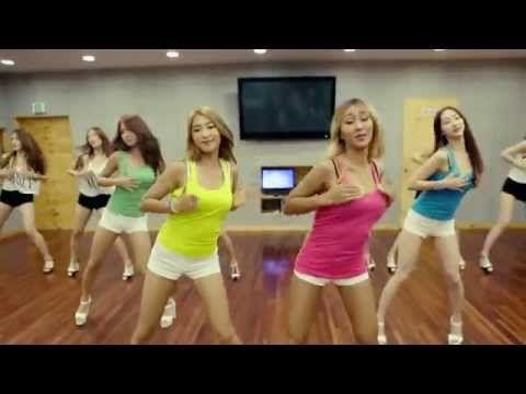 SISTAR1年2ヶ月ぶりカムバック。彼女達の良さはずっと変わらないな〜。 [Dance Practice] Touch my body_안무연습 Ver.