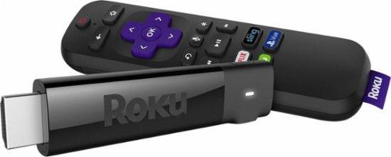 Roku - Streaming Stick+ - Black