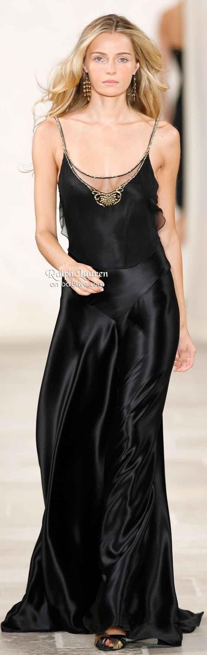 Ralph Lauren. Black GownsDress ...