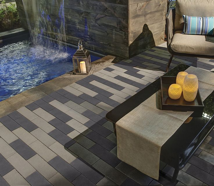 Eterna - The most advanced modular, plank-style paving system from Oaks, featuring our Elite Finish™ and ColorBold™ technologies, for the ultimate blend of sleek aesthetics and performance.