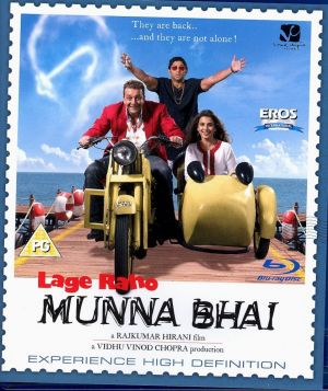 Lage Raho Munna Bhai : Bollywood BLURAY DVD. Article condition is new. Please allow upto 30 days for US and a max of 2-5 weeks worldwide. we request you to please be sure of the buy/product to avoid returns/undue hassles. Please contact us before leaving any negative feedback. Subtitles: English