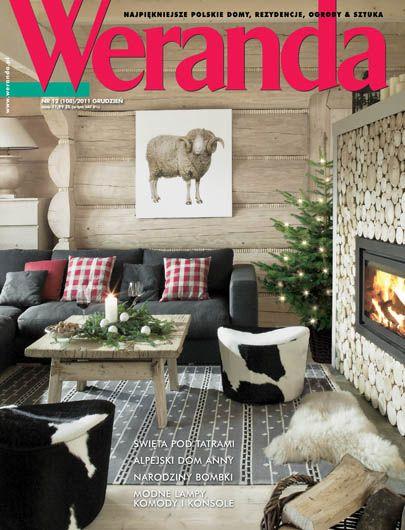 Okładka magazynu Weranda 12/2011 www.weranda.pl