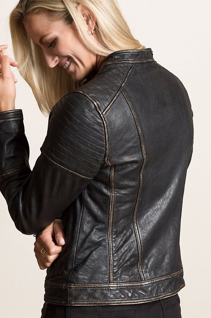 fa538308230 Chelsea Lambskin Leather Moto Jacket in 2019   My Style   Lambskin leather,  Jackets, Leather