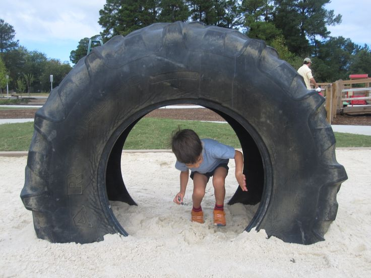 Tractor Tire at Knightdale Park