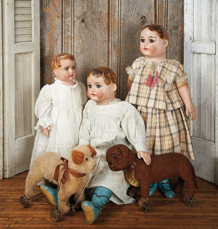 American Cloth Alabama Baby dolls by Ella Smith.