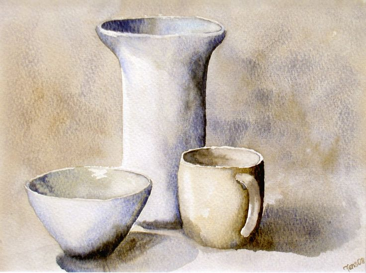 Painting Of Kitchen Object