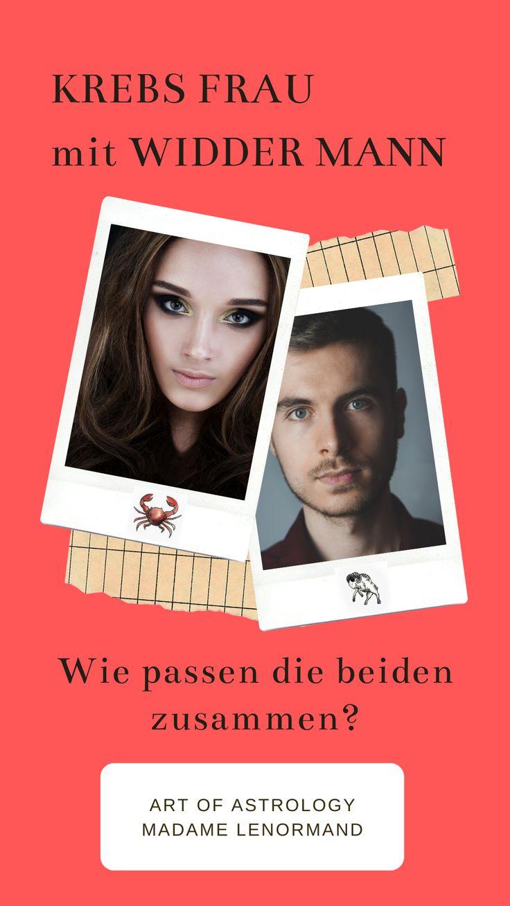 Widder-Mann & Krebs-Frau Liebe und Partnerschaft   Widder