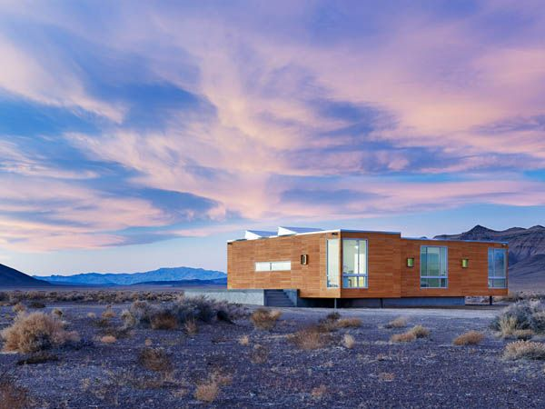Nevada Desert Vacation Home: Death Valley, Nice House, House Design, The View, Desert Home, Rondolino Resident, Desert Rose, Ships Container House, Architecture