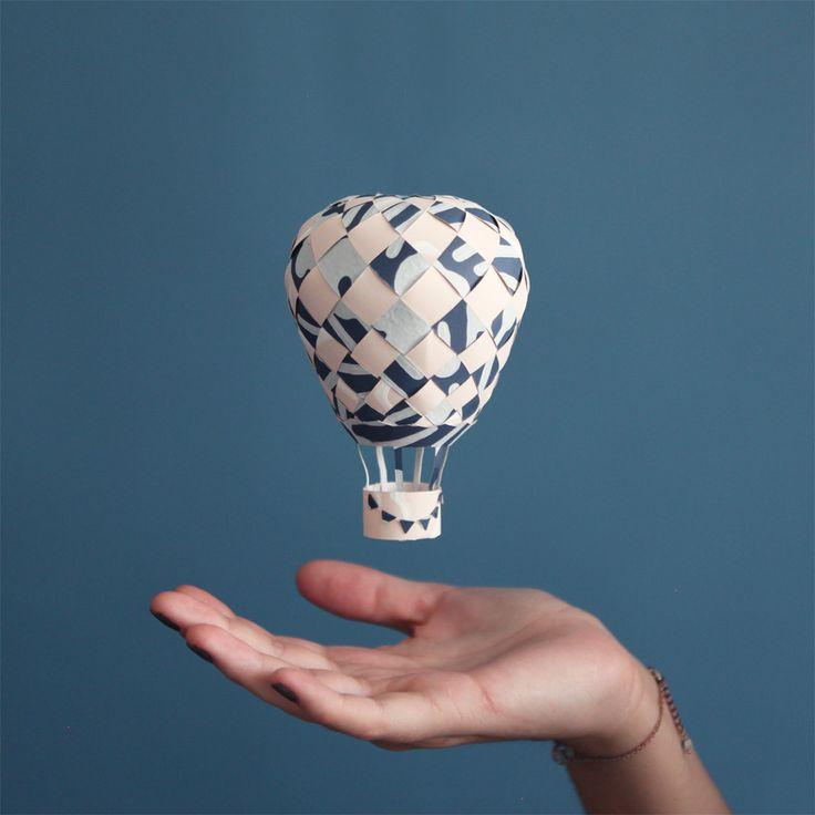 Do It Yourself: la Montgolfière en papier peint