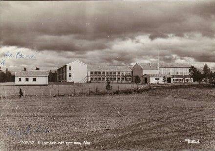 Alta Finnmark offentlige gymnas foto: Mittet