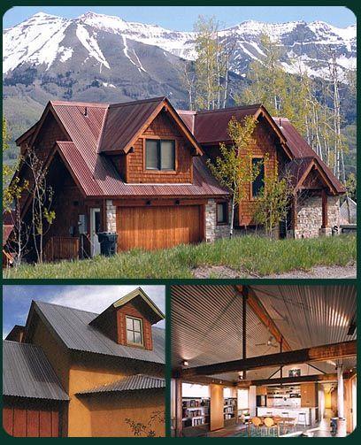 Rusty Corrugated Metal Vintage Barn Roof Weathering