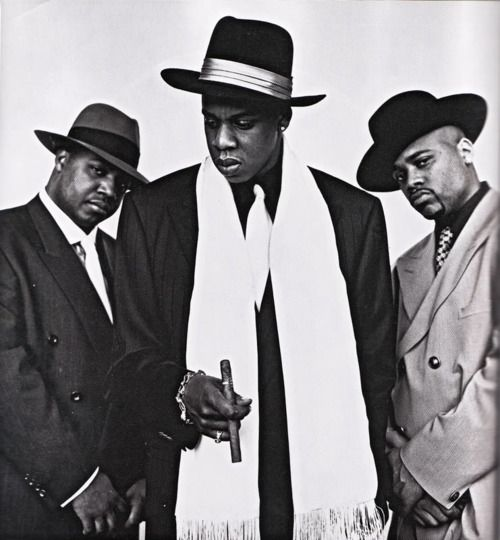 Rocafella - JayZ, Biggs, and Dame