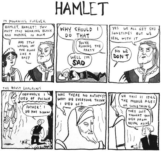 I really need help on my hamlet essay!?