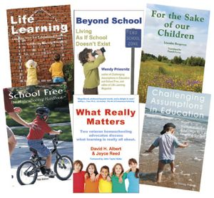 Books about unschooling and homeschooling