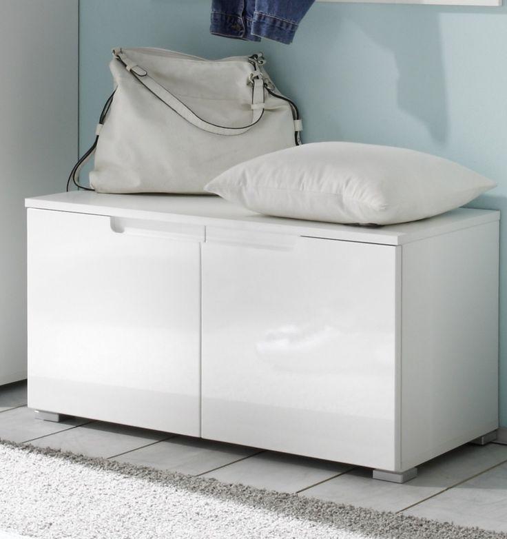 die besten 25 sitzbank flur weiss ideen auf pinterest moderner bauernhausstil mit. Black Bedroom Furniture Sets. Home Design Ideas
