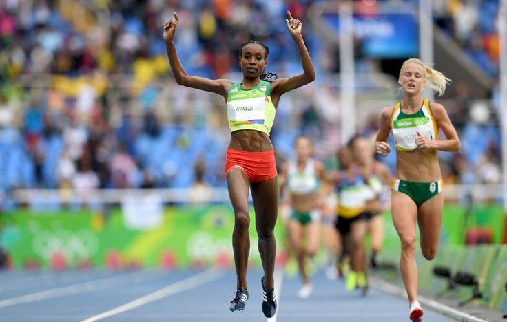 Women's 10,000: Almaz Ayana Wins in a World Record  http://www.runnersworld.com/olympics/womens-10000-almaz-ayana-wins-in-a-world-record