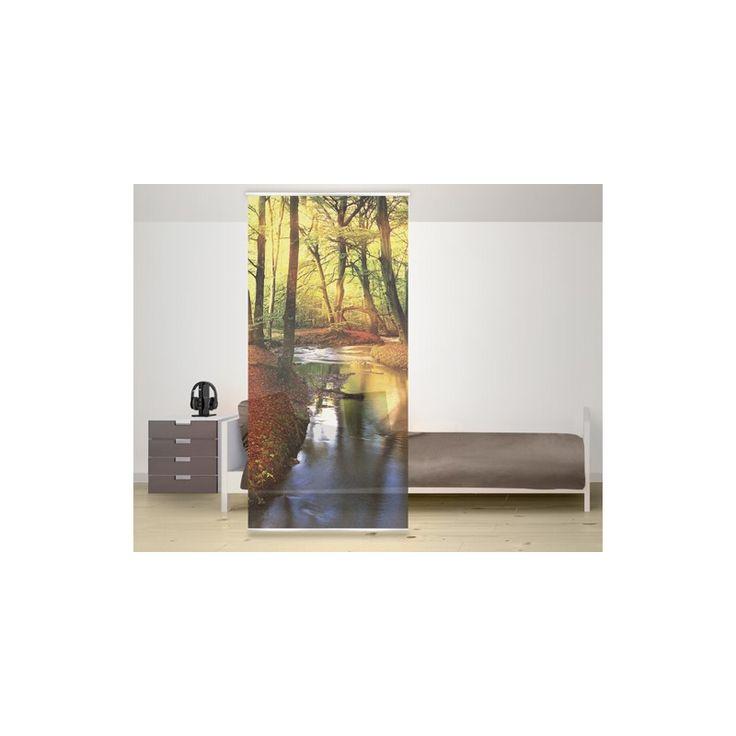 Tündérmesékbe illő színes őszi tájjal bátran elválaszthatod a tereket otthonodban. Mérete: 120x250 cm