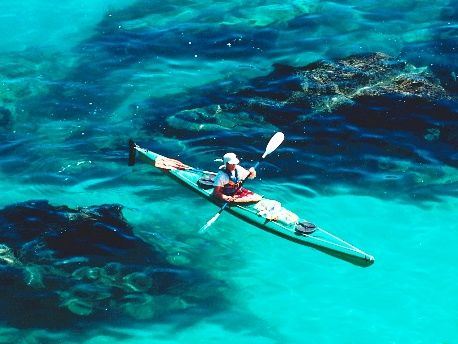 Kayaking is amazing, pure and simple...you get to see the great outdoors, awesome exercise for your core and shoulders, and even take a snorkel and get wet!