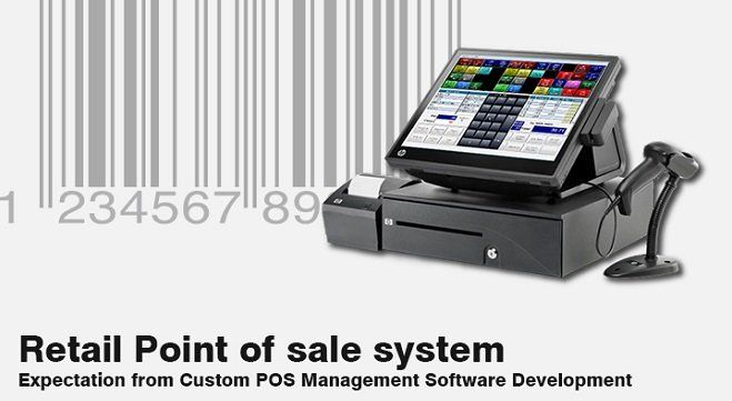 #Retail #pointofsale #system its expectation from #custom #pos #management #software #development with benefits for #retailers to make their #business #successful.