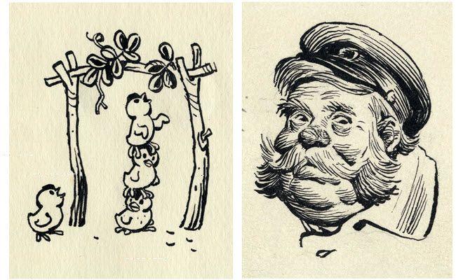 Иллюстрации художник Мигунов -  Illustrations - by Migunov