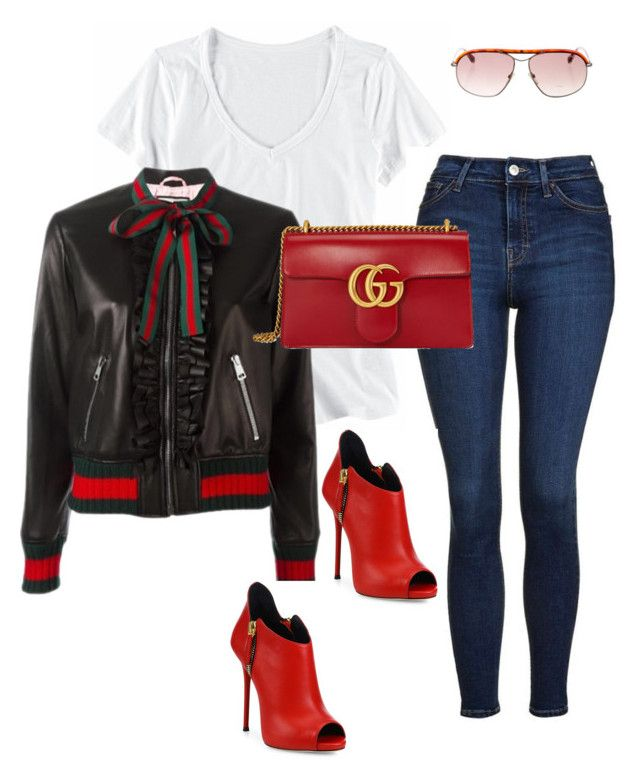 Untitled #546 by sanchez-drummond on Polyvore featuring polyvore fashion style Horny Toad Gucci Topshop Giuseppe Zanotti Tom Ford clothing