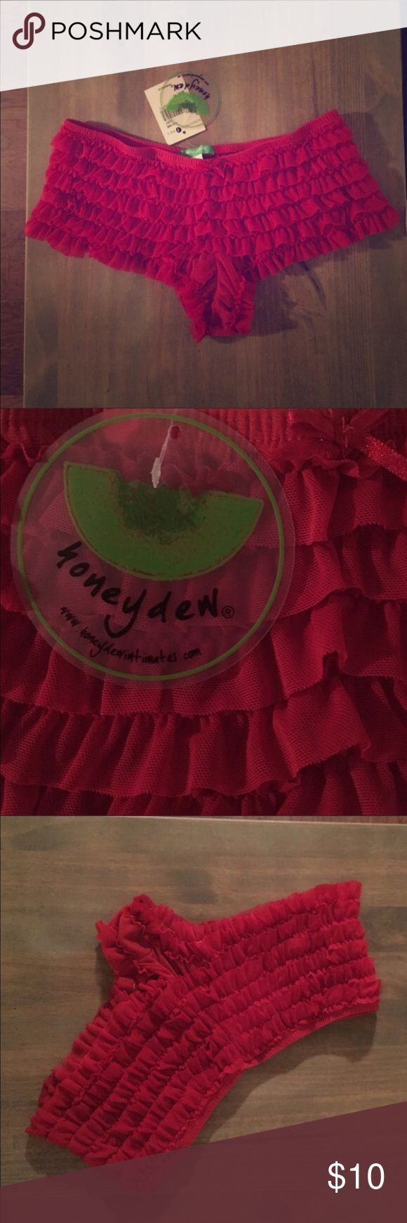 Adorable red ruffle panty -nwt These are positively adorable and never worn. Super soft. Size medium. Honeydew Intimates Intimates & Sleepwear Panties - dessous lingerie, sexyy lingerie, buy lingerie *sponsored https://www.pinterest.com/lingerie_yes/ https://www.pinterest.com/explore/lingerie/ https://www.pinterest.com/lingerie_yes/lingerie-femme/ http://us.asos.com/women/lingerie-sleepwear/cat/?cid=6046