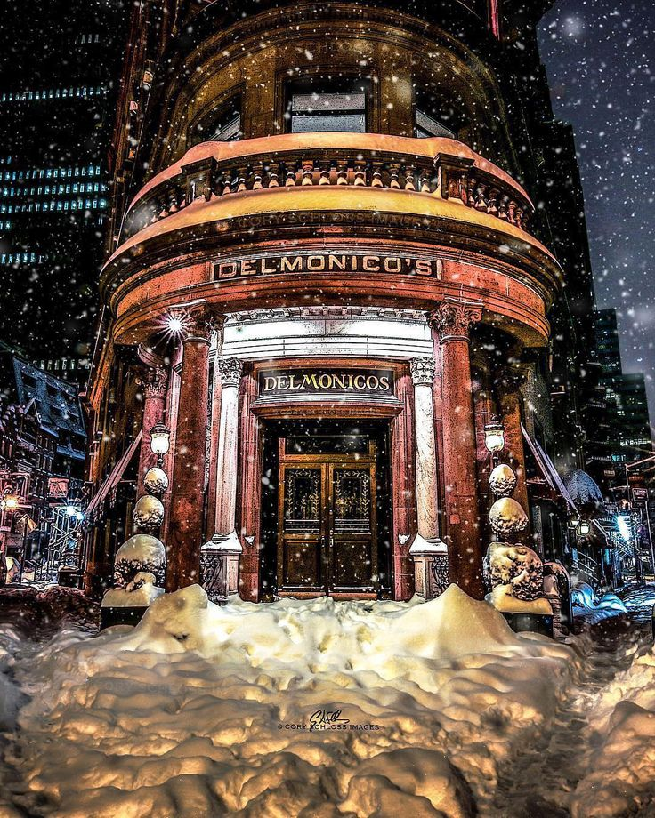 "10.5k Likes, 97 Comments - Elena (@pictures_of_newyork) on Instagram: ""Gorgeous shot of the iconic restaurant Delmonico's by my friend Cory @coryschlossimages…"""